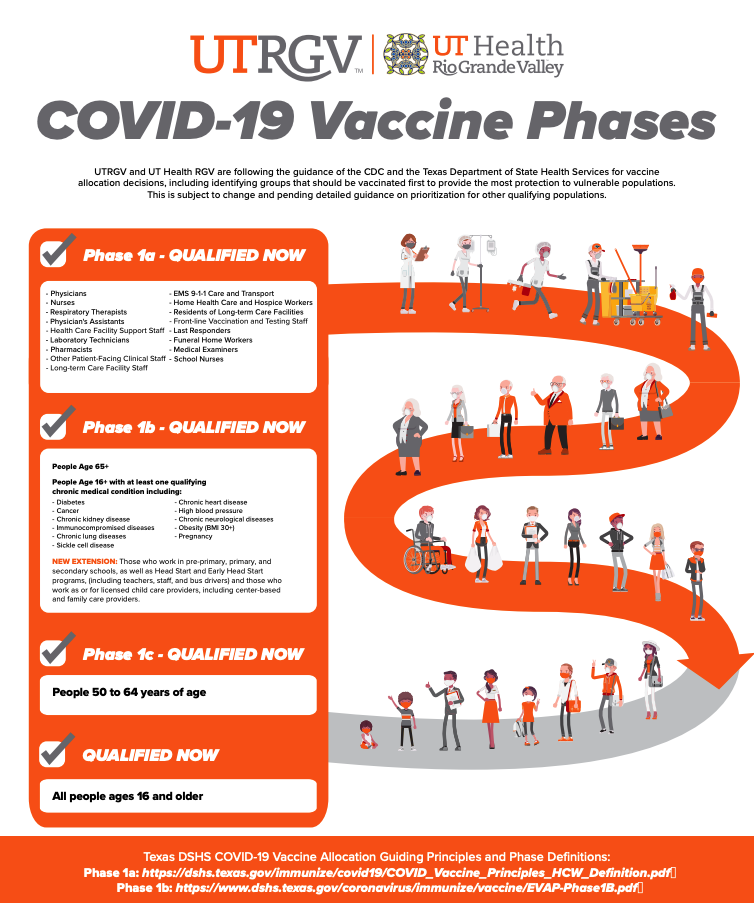 COVID-19 Vaccine Phases Infographic