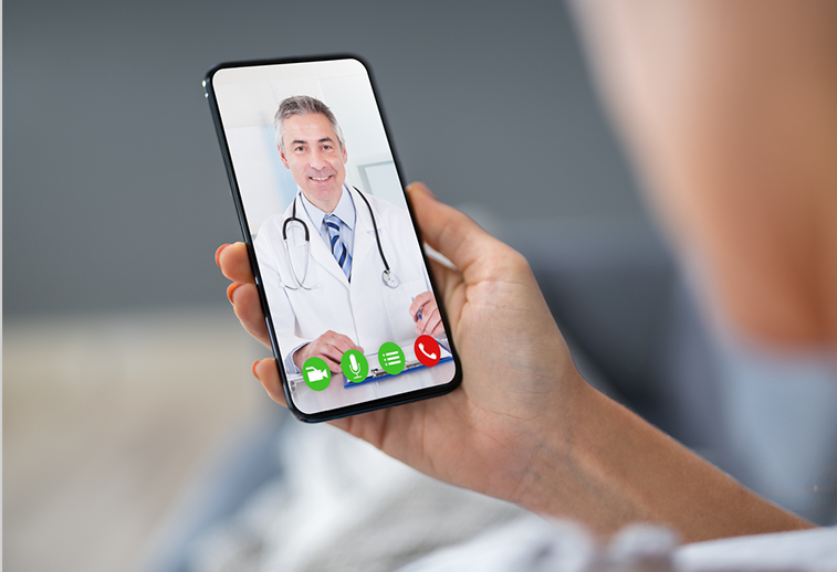 virtual doctor visit via phone